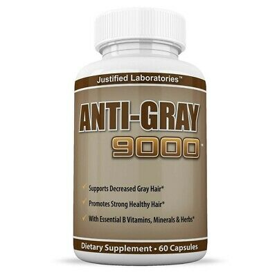 Anti Grey Hair Vitamins | Justified Laboratories - Hair Loss Supplement / Tablet
