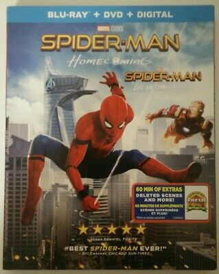 Spider-Man: Homecoming (Blu-ray + DVD, Slipcover Canadian)