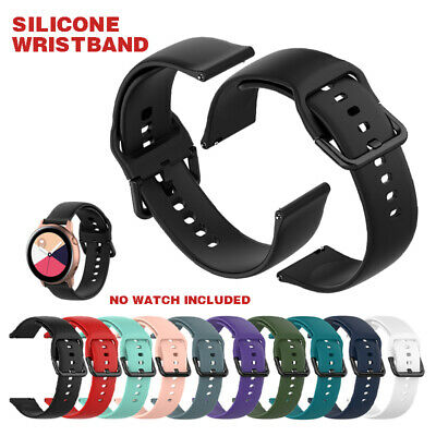 Replacement Silicone Watch Band Strap for Samsung Galaxy Watch Active SM-R500