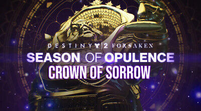 Destiny 2 | Crown of Sorrow GUARANTEED Completion (Xbox One)