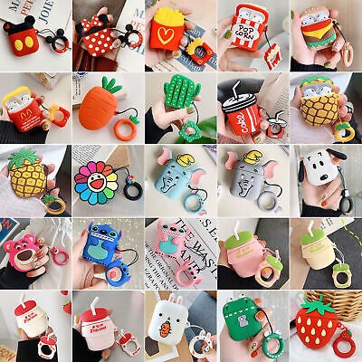 Favorite Cute Cartoon Silicone Airpods Case Cover For Apple Airpods Accessories