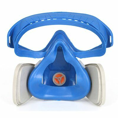 Full Face Respirator Gas Mask With Goggles Paint Chemical Protective Mask ASE
