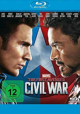 The First Avenger: Civil War - (Marvel) # BLU-RAY-NEU