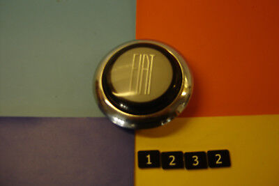 1960s CLASSIC FIAT 1100R 850 500 STEERING WHEEL CENTRE HORN HOOTER PUSH BUTTON.