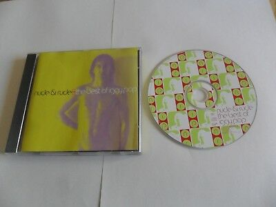 Iggy Pop - Nude & And Rude: The Best Of Iggy (CD 1996) UK Pressing