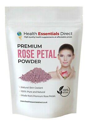 Premium Rose Petal Powder (Anti-Aging Skin Cooling Face Mask) Choose Size