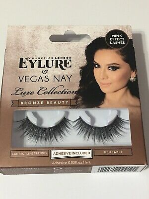 a7f997a120a EYLURE VEGAS NAY Luxe Collection Bronze Beauty Mink Effect Lashes W ...
