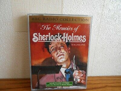 audio 2 cassettes the memoirs of sherlock holmes vol one
