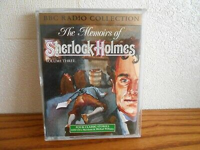 audio 2 cassettes the memoirs of sherlock holmes vol 3 x 4 classic stories