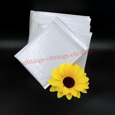 25/100/200 Poly Bubble Mailers Padded Envelopes Mailer 3x5 6x9 8x11 4x6 15 Size