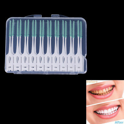 20Pcs soft clean between interdental floss brushes dental oral teeth care toSPF