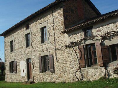 houses for sale in france, charente two farmhouses with 5 acres barns and pool