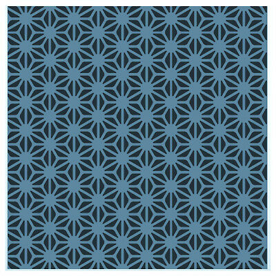 Asanoha Pattern Stencil - Large Reusable Japanese Pattern Template by CraftStar