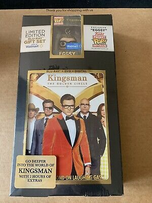 KINGSMAN THE GOLDEN CIRCLE BLU-RAY Eggsy Funko Pocket Pop! Keychain Edition Rare