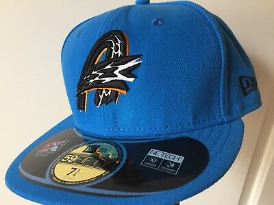 Hudson Valley Renegades Maroon Green MiLB New Era 59Fifty Fitted Hat Cap DS