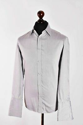 a0d87fe8 Men's Kenzo Classic Casual Slim Fit Long Sleeve Shirt Size 38 S / M Genuine