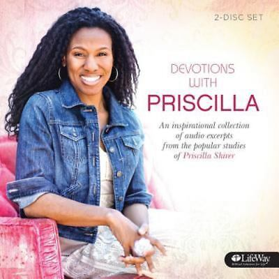 Devotions from Priscilla Shirer - Audio CD  by Priscilla Shirer - 2 Disk Set