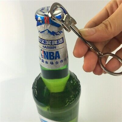 HILIFE Keychain Bottle Opener Zinc Alloy Key Chain Keyring Guitar Shape Beer Bot