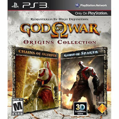 God of War: Origins Collection (Sony PlayStation 3, 2011) *Complete*