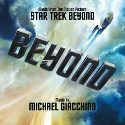 STAR TREK BEYOND soundtrack - michael giacchino (CD, album) very good condition