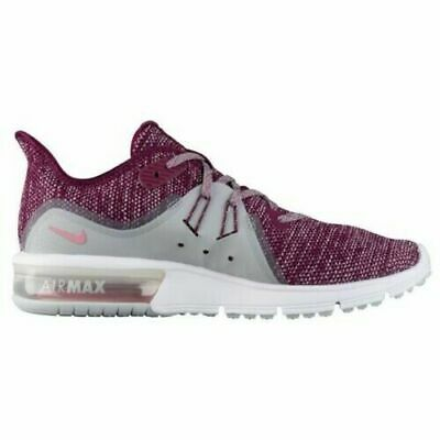 newest 0cc21 23402 Nike Air Max Sequent 3 Women's Running Shoes 908993 606 Bordeaux Elemental  Pink