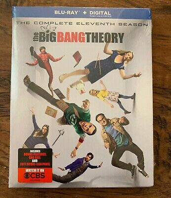 The Big Bang Theory Complete 11th Eleventh Season 11 Eleven US BLU-RAY SET
