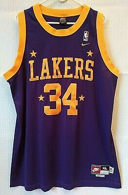821b342afbc Shaquille O'Neal 90's Jersey NBA Nike Champions Limited Edition Brand New  Sz XL