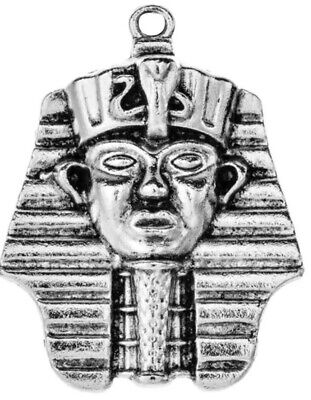 Egypt King Tut Pharaoh Charm Only No Necklace *12*