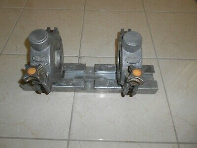 """Central Electrofusion Pipe Alignment Clamp For 2"""" & 4"""" Pipe  Mcelroy Fusion"""