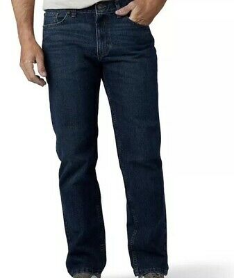 Men's URBAN PIPELINE Regular Fit / Straight Leg Dark Wash Jeans Size 36 X 30 NWT