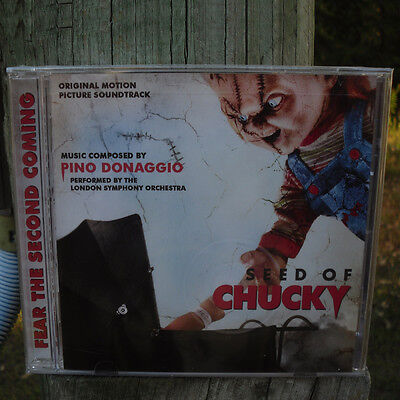Seed of Chucky, Jennifer tilly 2004 Film Score Pino Donaggio LaLa Land New CD