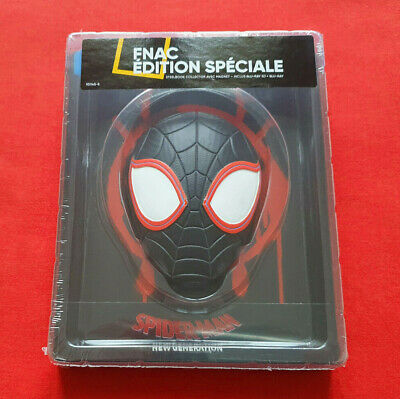 Neuf Spider-Man New Generation Steelbook Fnac Edition Speciale Blu-Ray 3D