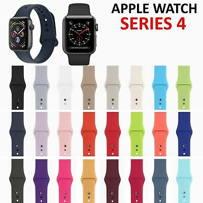 Replacement Sports Silicone Strap Band for Apple Watch iWatch 4/3/2/1 40mm/44mm
