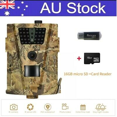 12MP Trail  scouting Security Hunting Cam Waterproof Night Vision Camera game