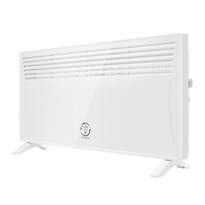 2500W Electric Convector Panel Heater Radiator Thermostat Wall Mounted Portable