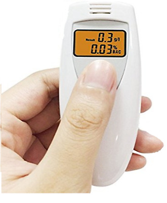 MINI New Portable MINI Digital LCD Alcohol Breath Tester Analyzer Breathalyzer A