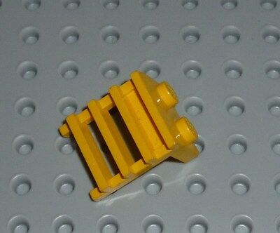 LEGO - PLATE, Modified 1 x 2 with Ladder, YELLOW x 4 (4175) PM194