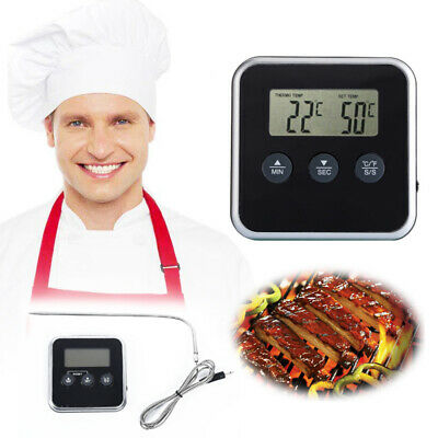 Digital LCD Food Thermometer Temperature Probe Baking Meat Cooking Tools Cooker