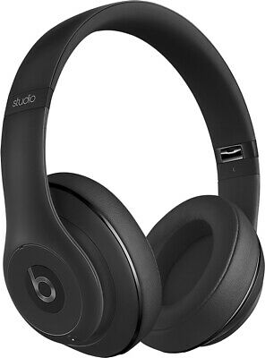 Beats By Dr Dre Studio 2.0 WIRED Over Ear Headband Headphones - Matte Black