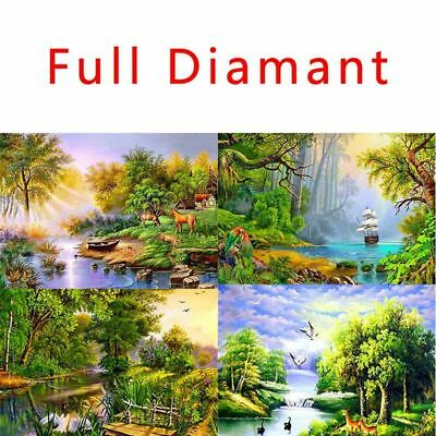 5D Diamond Painting Full Diamant Kreuzstich Stickerei Malerei Landschaft Mode