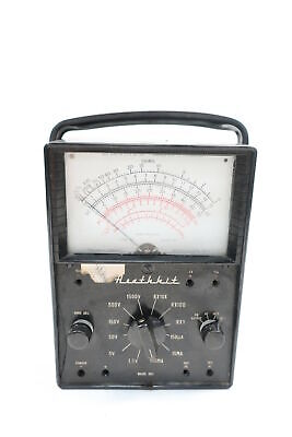 Heath MM1 Heathkit Volt-ohmmeter Voltmeter
