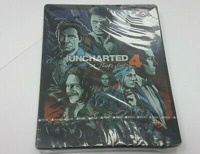 Uncharted 4 A Thief's End Limited Steelbook Edition Playstation 4 PS4