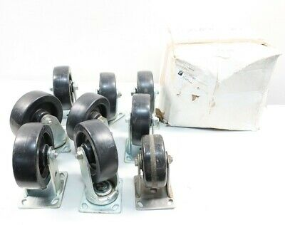 9x Assorted Caster Wheels