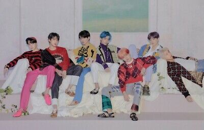 OFFICIAL BTS POSTER — Map Of The Soul Persona Album JIMIN TAEHYUNG JIN SUGA RM V