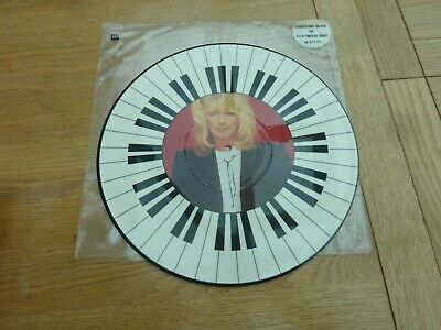 "CHRISTINE McVIE FLEETWOOD MAC GOT A HOLD ON ME 12"" PICTURE DISC 1984"