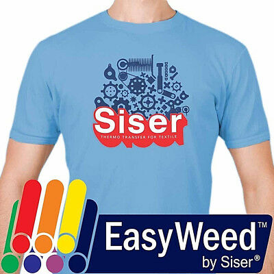 "Siser EasyWeed® HTV Heat Transfer Vinyl for T-Shirts 12"" by 12"" Sheet(s)"