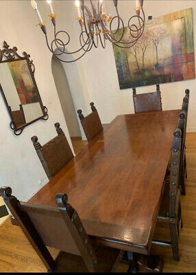 UNIQUE DINING TABLE From SPANISH CASTLE and 6 SPANISH ...