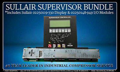 Sullair Combo 02250119-330 Display Module/02250148-949 I/O Module With Warranty