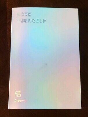 BTS Love Yourself: Answer E Version Album+Standee+Notes US SELLER No Photocard