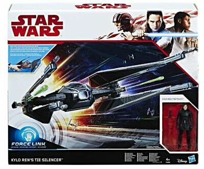 Star Wars Episode VIII Force Link Class D 2017 KyloRen's TIE Silencer Raumschiff